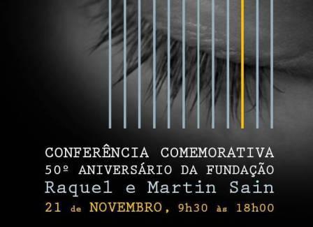 Imagem parcial do cartaz publiciário da Conferência Comemorativa do 50º Aniversário da FRMS