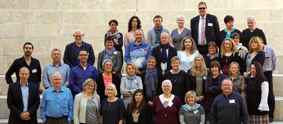 Fotografia do grupo de participantes