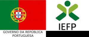 Logotipo da República Portuguesa e IEFP